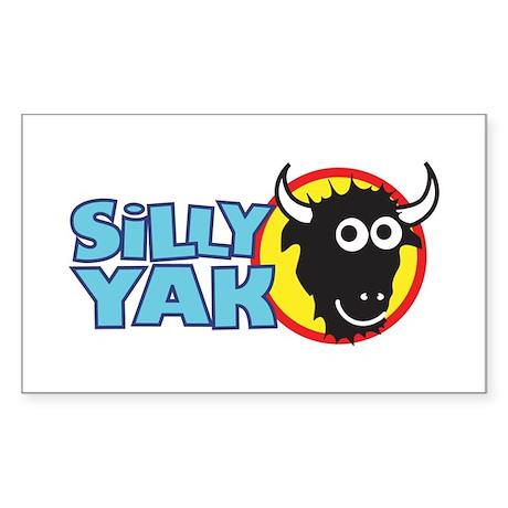 Silly Yak Shirt Co. Rectangle Sticker
