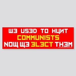 Hunt Commies: Sticker (Bumper)