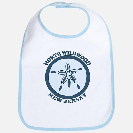 Wildwood NJ - Sand Dollar Design Bib