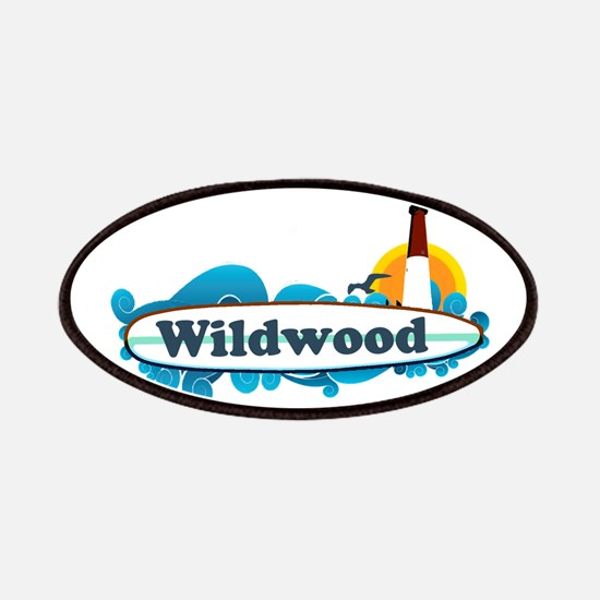Wildwood NJ - Surf Design Patches