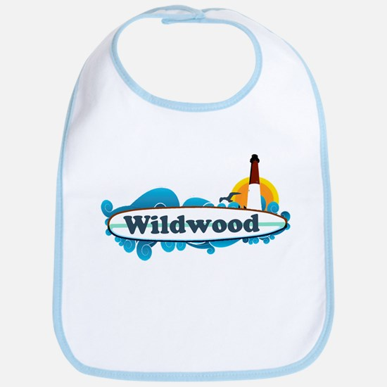 Wildwood NJ - Surf Design Bib