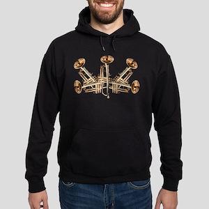 Trumpet Design Hoodie (dark)