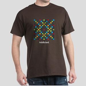 Word Game Addiction - Dark T-Shirt