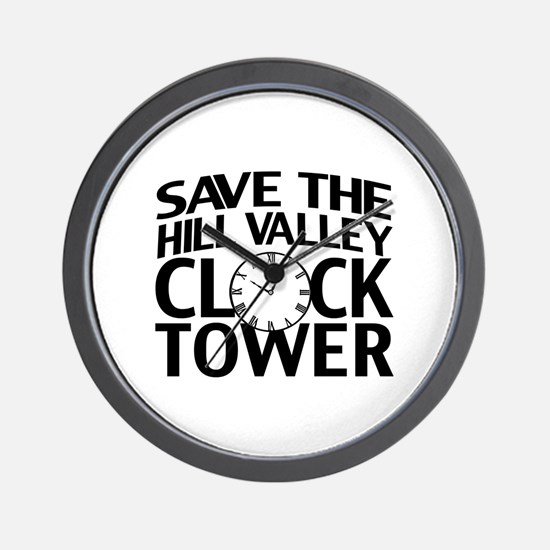 Save The Clock Tower Wall Clock