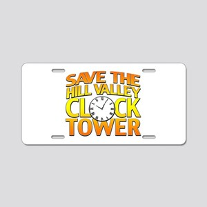 Save The Clock Tower Aluminum License Plate