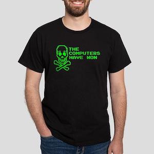 The Computers Won Dark T-Shirt