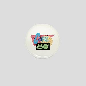Cafe 80s Mini Button
