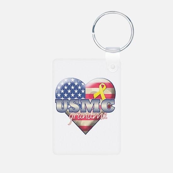 USMC Grandma - Keychains