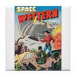 Space Western 41 Tile Coaster