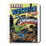 Space Western 42 Mousepad