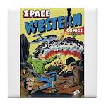Space Western 42 Tile Coaster