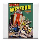 Space Western 40 Tile Coaster