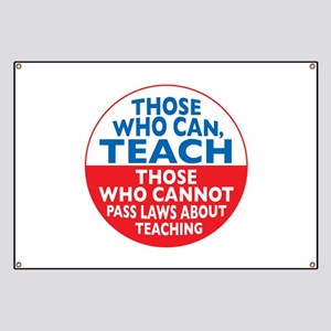 Those Who Can Teach those who Banner