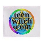 TeenWitch.com Throw Blanket