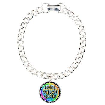 TeenWitch.com Charm Bracelet, One Charm
