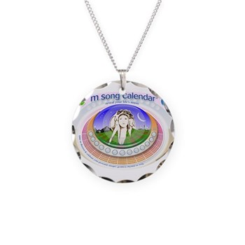 mSong Necklace Circle Charm