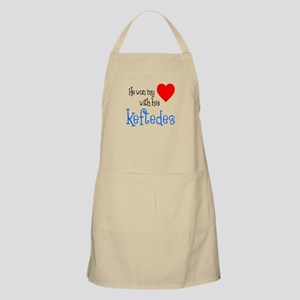 Won My Heart With Keftedes Greek Apron