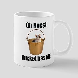 Bucket cat Mug