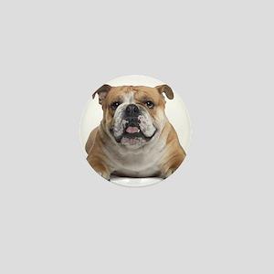 Cute Bulldog Mini Button