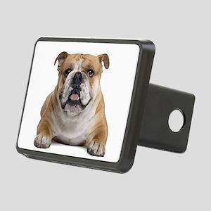 Cute Bulldog Rectangular Hitch Cover