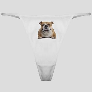 Cute Bulldog Classic Thong