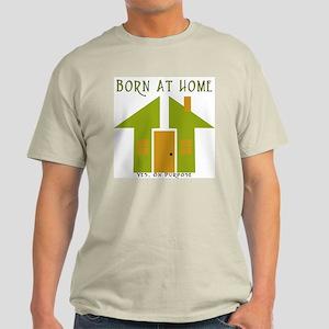 Homebirth On Purpose Ash Grey T-Shirt