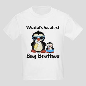 Coolest big brother penguin Kids Light T-Shirt