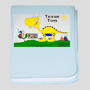 Texas Tom! baby blanket