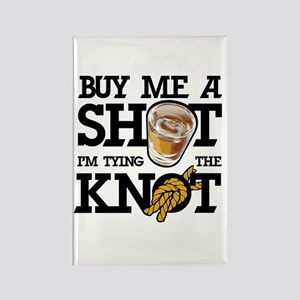 Buy Me A Shot Rectangle Magnet