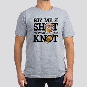 Buy Me A Shot Men's Fitted T-Shirt (dark)