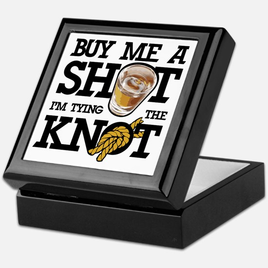 Buy Me A Shot Keepsake Box