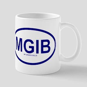 MGIB - My Grass Is Blue Mug