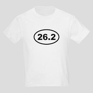 26.2 Miles - Marathon Kids Light T-Shirt