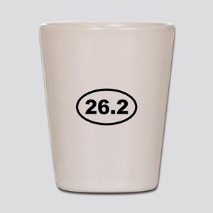 26.2 Miles - Marathon Shot Glass