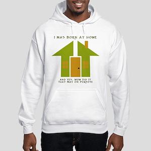 Homebirth on Purpose 2 Hooded Sweatshirt