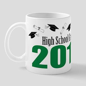 High School Grad 2011 (Green Caps And Diplomas) Mu