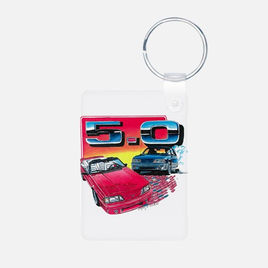 Mustang 5.0 Keychains