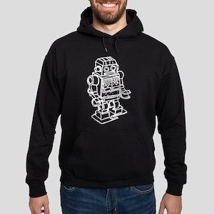 RETRO ROBOT SKETCH Hoodie (dark)
