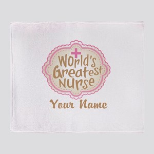Personalized World's Greatest Nurse Stadium Blank