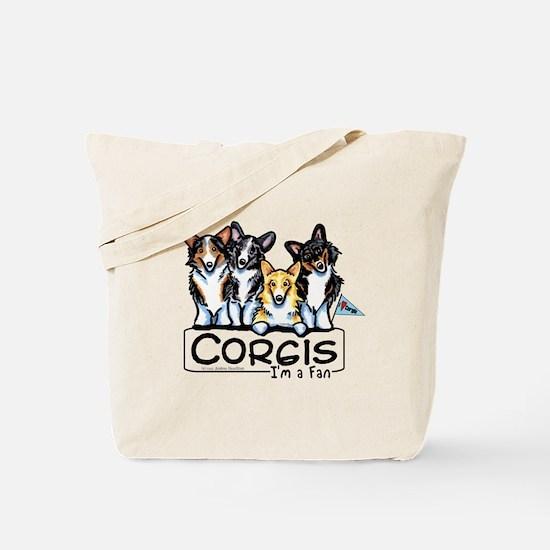 Corgi Fan Tote Bag