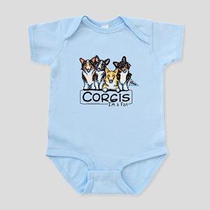 Corgi Fan Infant Bodysuit