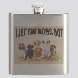 HUNTING DOGS Flask