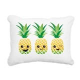 Cute pineapple Rectangle Canvas Pillows