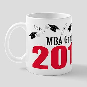 MBA Grad 2011 (Red Caps And Diplomas) Mug
