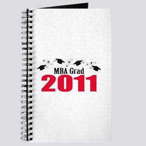 MBA Grad 2011 (Red Caps And Diplomas) Journal