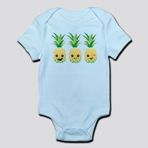 Pineapple Faces Body Suit