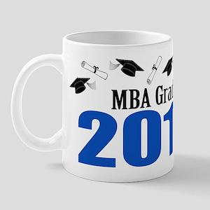 MBA Grad 2011 (Blue Caps And Diplomas) Mug
