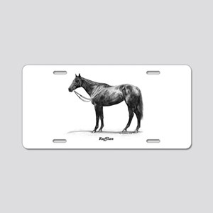 "Thoroughbred ""Ruffian"" Aluminum License Plate"