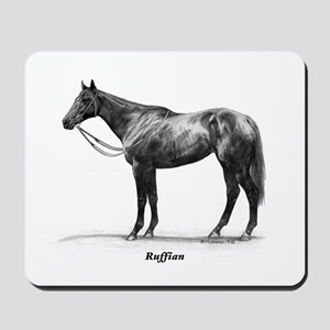 "Thoroughbred ""Ruffian"" Mousepad"