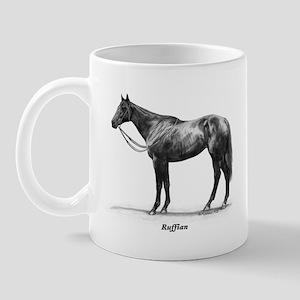 "Thoroughbred ""Ruffian"" Mug"